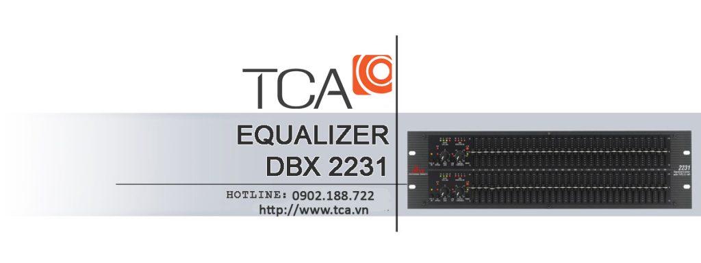 Bộ cân bằng DBX 2231