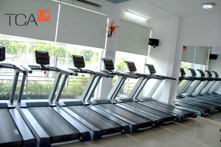 lắp đặt hệ thống âm thanh phòng tập gym