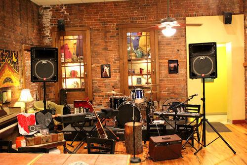 lắp đặt âm thanh quán cafe acoustic