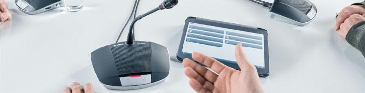 hệ thống âm thanh hội thảo bosch CCS 1000 D