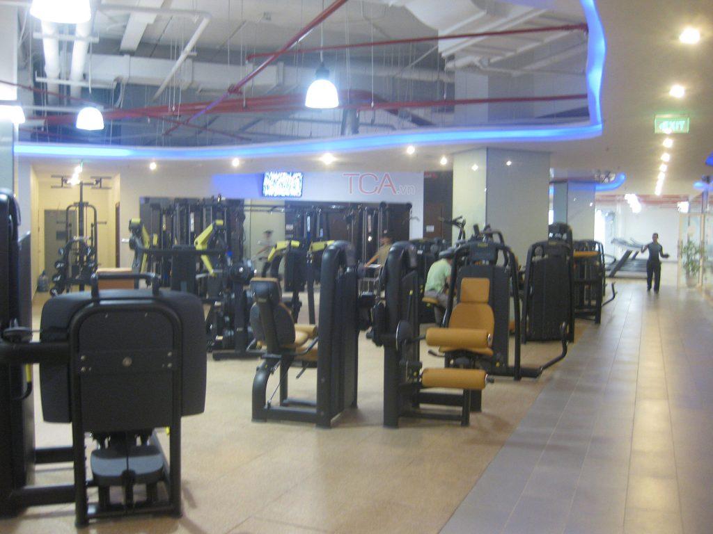 Âm thanh phòng tập thể dục GYM FITNESS