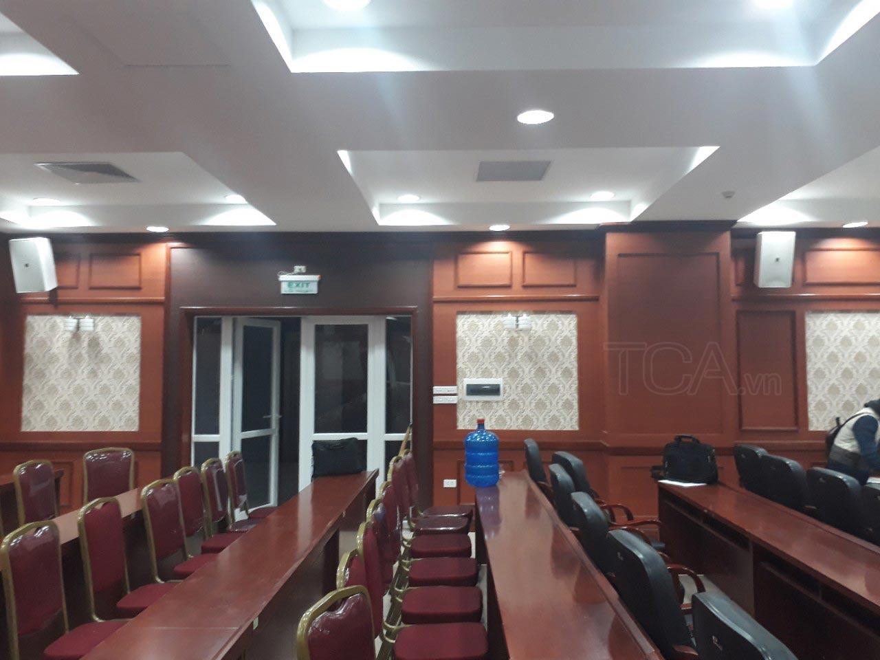 âm thanh phòng họp hội trường