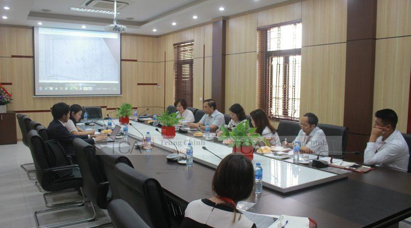 âm thanh hội nghị, hội thảo: phòng họp Đại Học Ngoại Thương