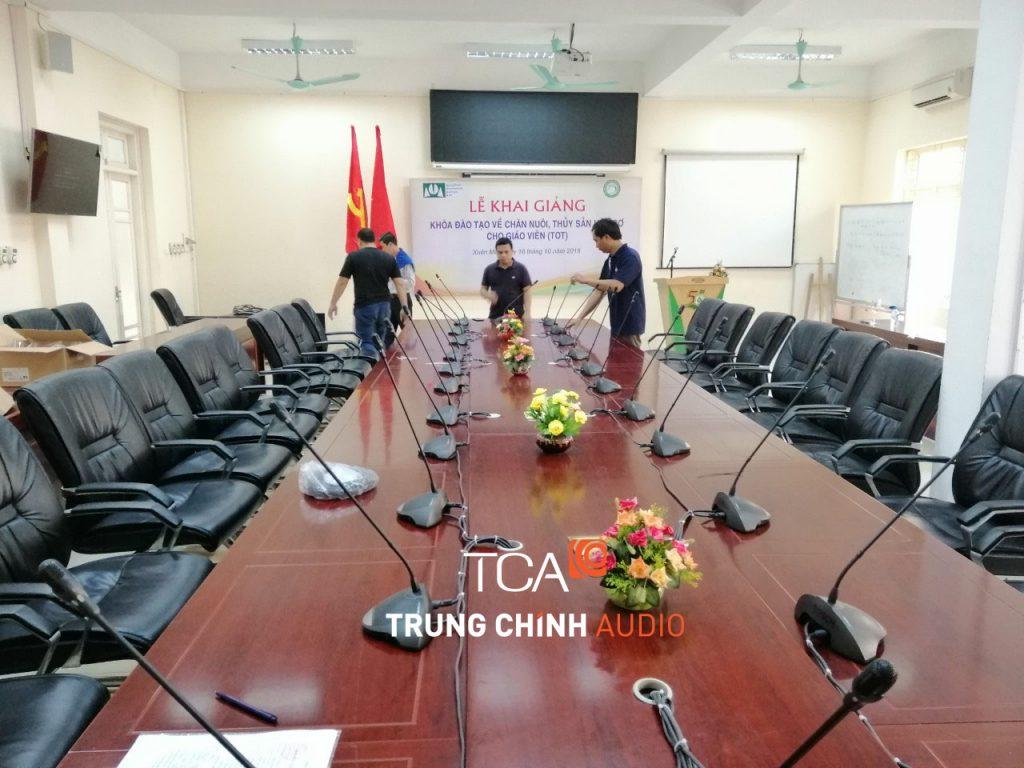 cong-trinh-he-thong-am-thanh-hoi-thao-bosch-ccs-900-tai-dai-hoc-lam-nghiep