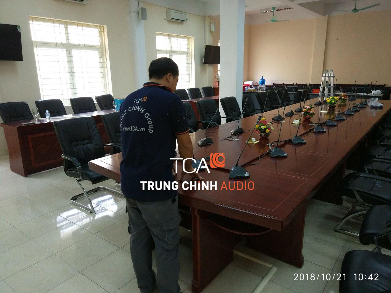 Âm thanh Hệ Thống Hội Thảo BOSCH CCS 900 Tại Trường Đại Học Lâm Nghiệp