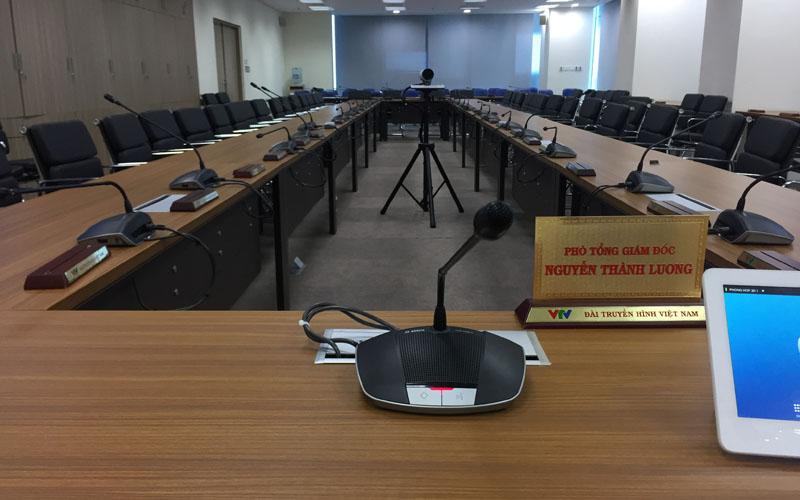 âm thanh phòng họp Đài Truyền Hình Việt Nam