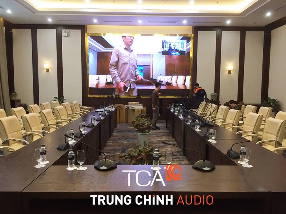 âm thanh ánh sáng Trung tâm hội nghị FLC Ha Long