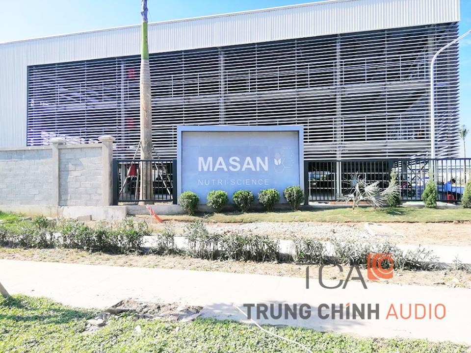 Âm thanh thông báo nhà máy Masan