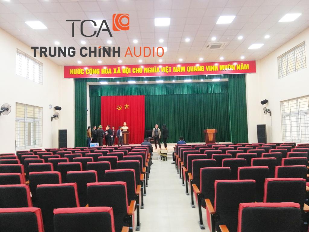 âm thanh ánh sáng sân khấu hội trường: trung tâm Văn Hóa Tây Mỗ