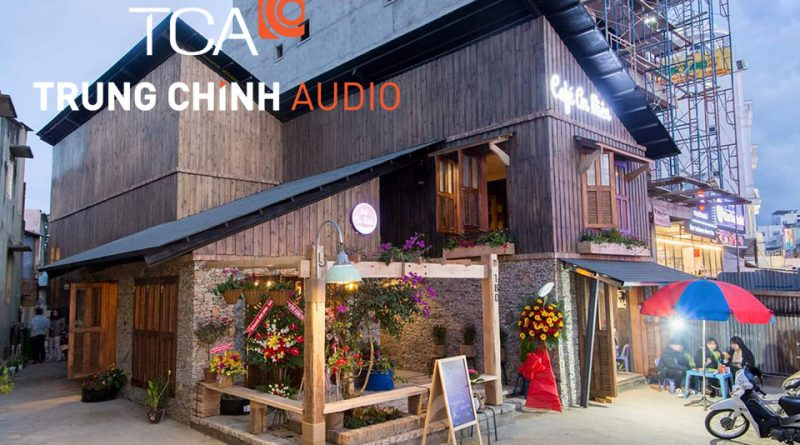 âm thanh quán cafe An Miên Đà Lạt