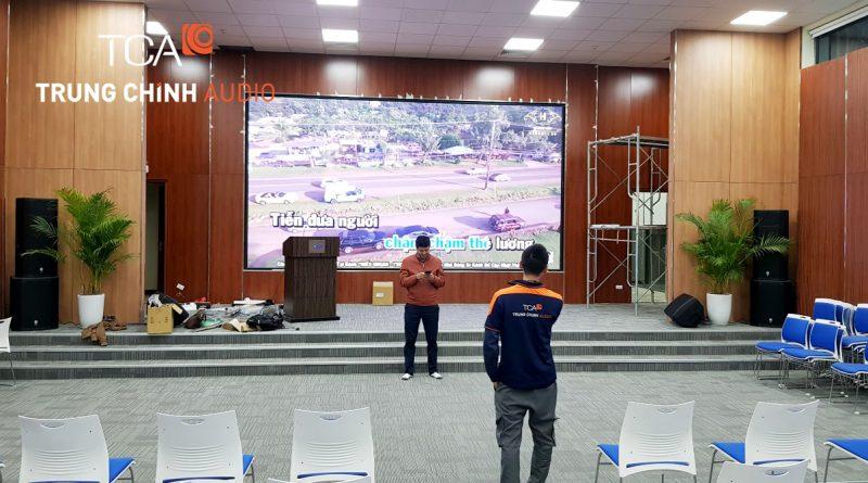 âm thanh sân khấu hội trường : tòa nhà VSIP Bắc Ninh