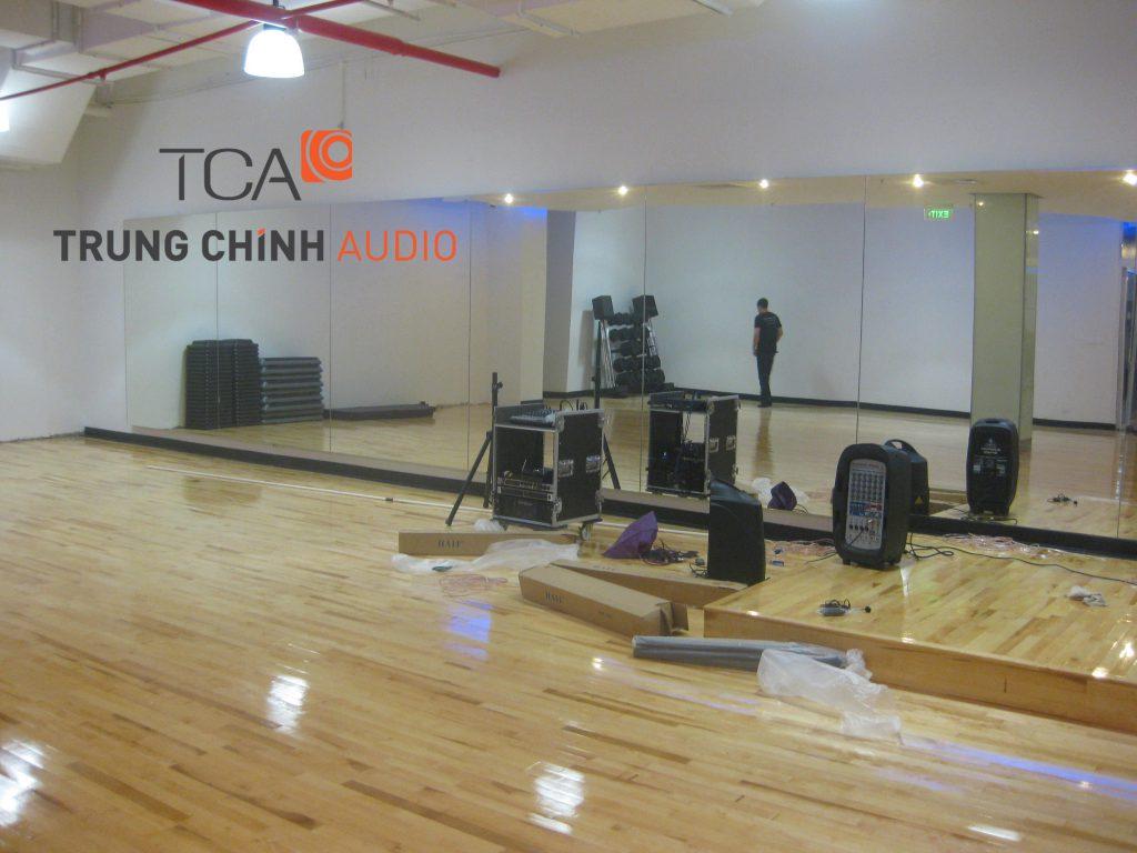 Hệ thống âm thanh thông báo tại Vincom Bà Triệu