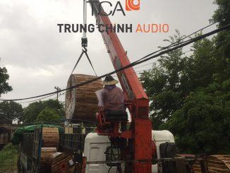 Trung Chính Audio cung cấp hệ thống dây cáp cho các công trình, dự án âm thanh