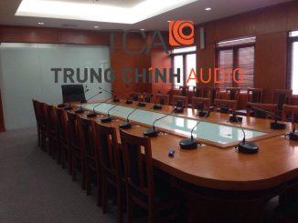 Trung Chính Audio lắp đặt hệ thống âm thanh hội thảo TOA TS-680