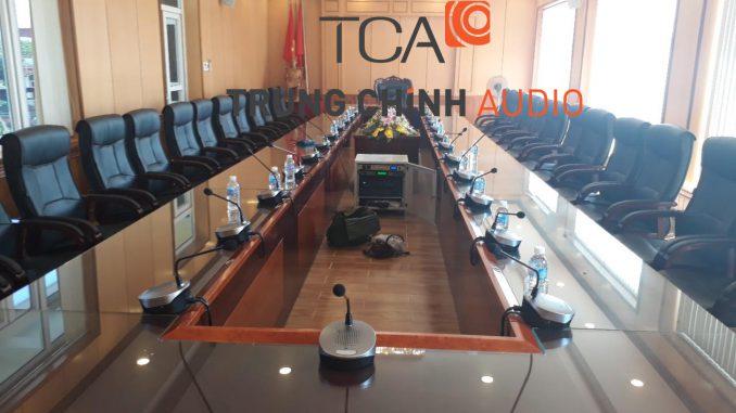 Trung Chính Audio lắp đặt hệ thống âm thanh hội thảo TOA TS-780