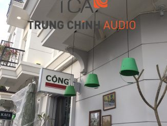 Tư vấn cung cấp và thi công hệ thống âm thanh tại cửa hàng CỘNG cà phê Quảng Ninh