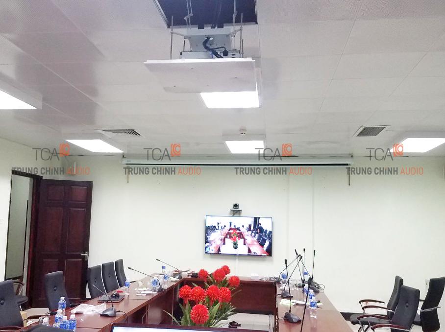 TCA lắp đặt hệ thống âm thanh hội thảo tại nhiệt điện Vĩnh Tân 2 Bình Thuận