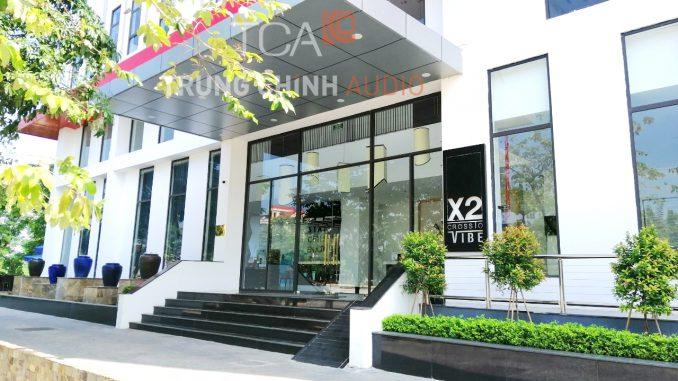 Âm thanh Rooftop Bar, Khách sạn X2 Vibe Việt Trì - Phú Thọ
