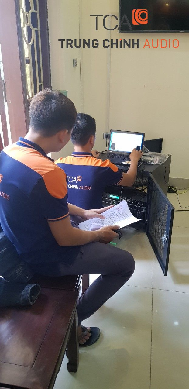 TCA cung cấp và thi công hệ thống hội thảo Bosch CCS1000D tại công an huyện Tiên Du, Bắc Ninh